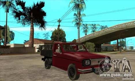 Anadol Pickup for GTA San Andreas back view
