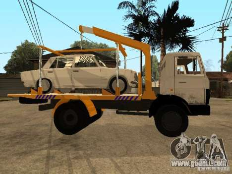 MAZ 54323 TOW TRUCK for GTA San Andreas right view