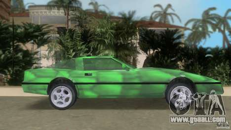 Reptilien banshee for GTA Vice City left view