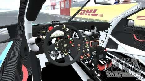 Porsche GT3 RSR 2008 for GTA 4 right view