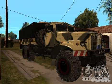 KrAZ 255 B1 v 2.0 for GTA San Andreas