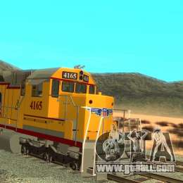 SD 40 Union Pacific Building America for GTA San Andreas