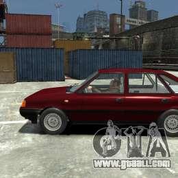 FSO Polonez Caro 1.4 16V for GTA 4 left view.