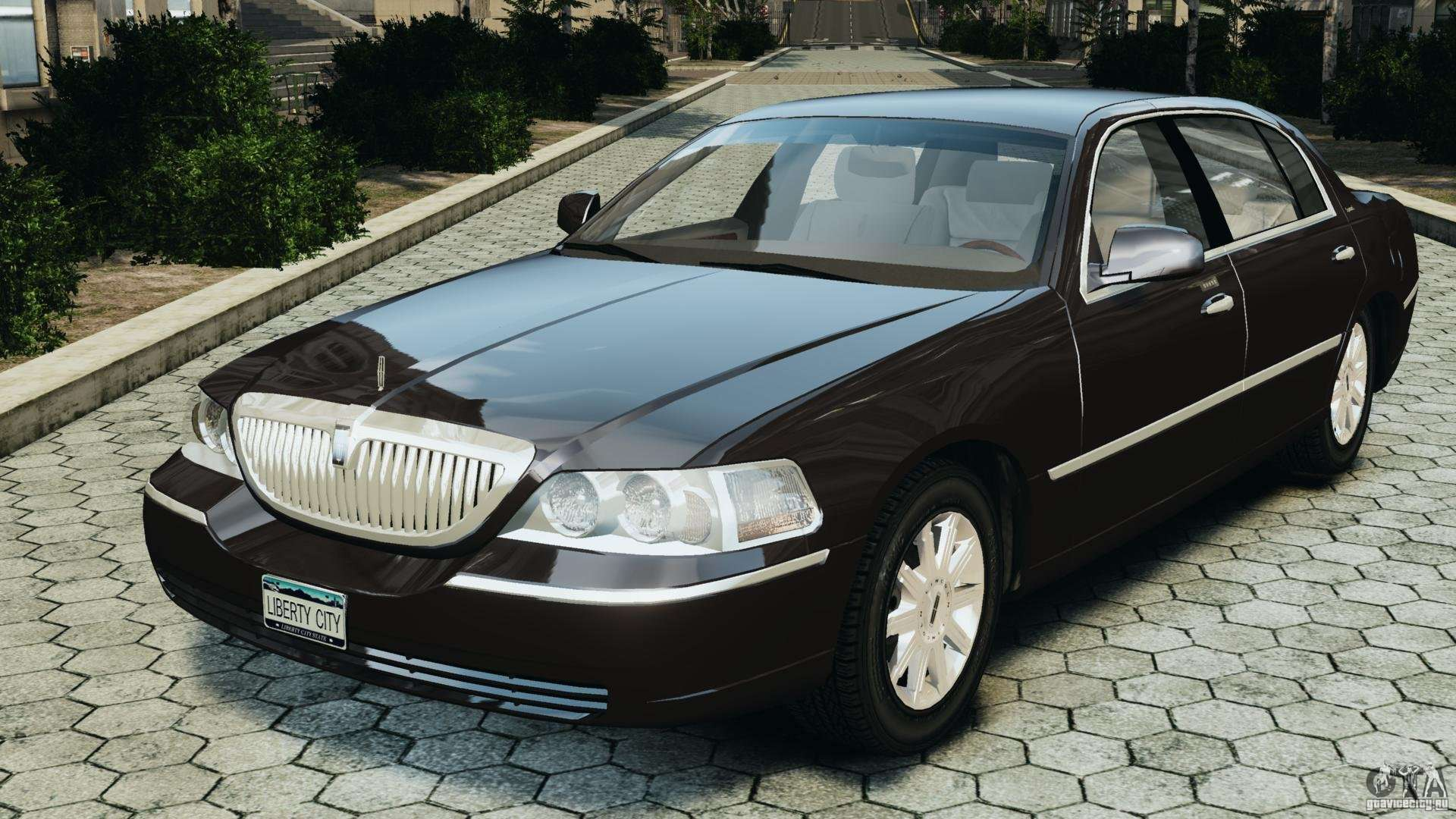 Lincoln Town Car  For Sale Black