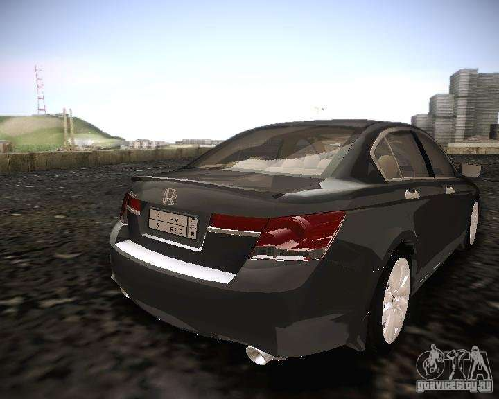 Honda Accord 2011 For Gta San Andreas