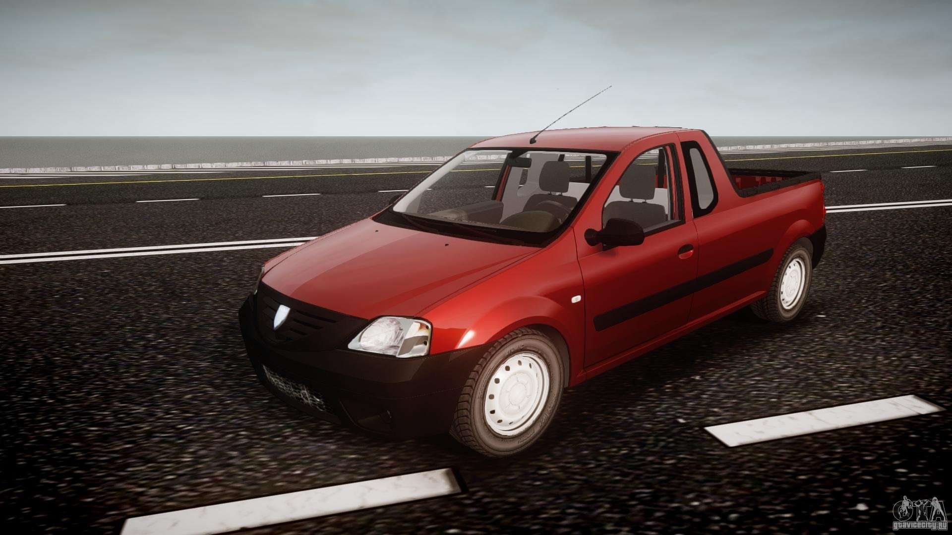 Dacia Logan Pick Up Elia Tuned For Gta 4