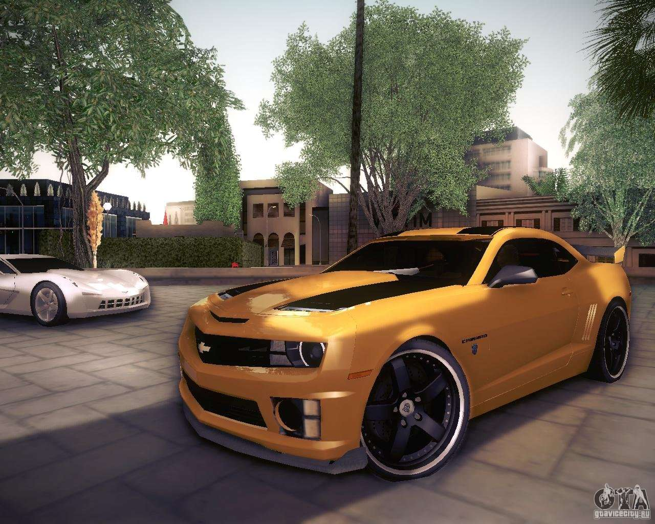 Chevrolet Camaro 2ss 2012 Bumblebee For Gta San Andreas