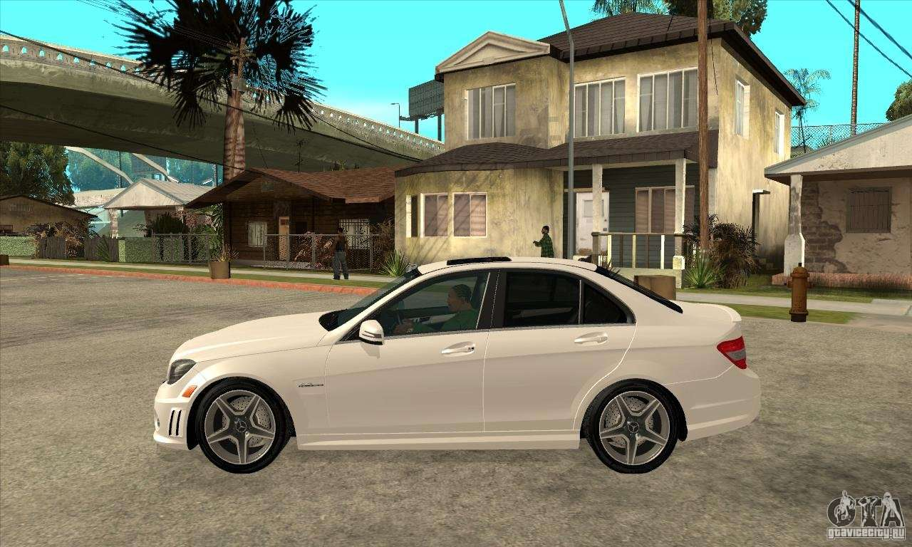 Mercedes benz c63 amg 2010 for gta san andreas for Mercedes benz gta