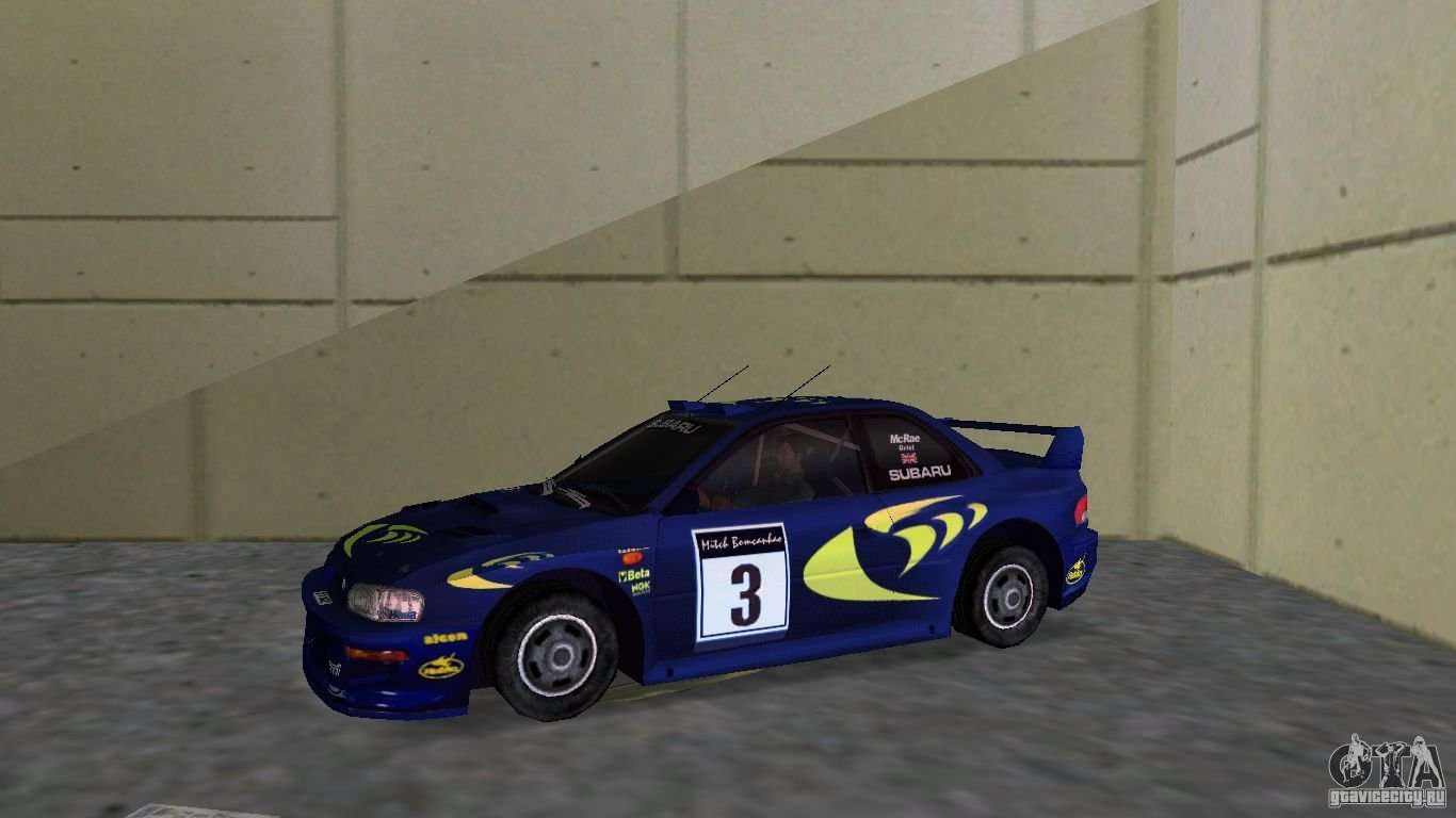 2010 Subaru Impreza Wrx >> Subaru Impreza 22B Rally Edition for GTA Vice City