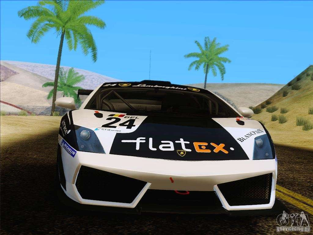 Lamborghini Gallardo LP560 4 GT3 V2.0 For GTA San Andreas Right View