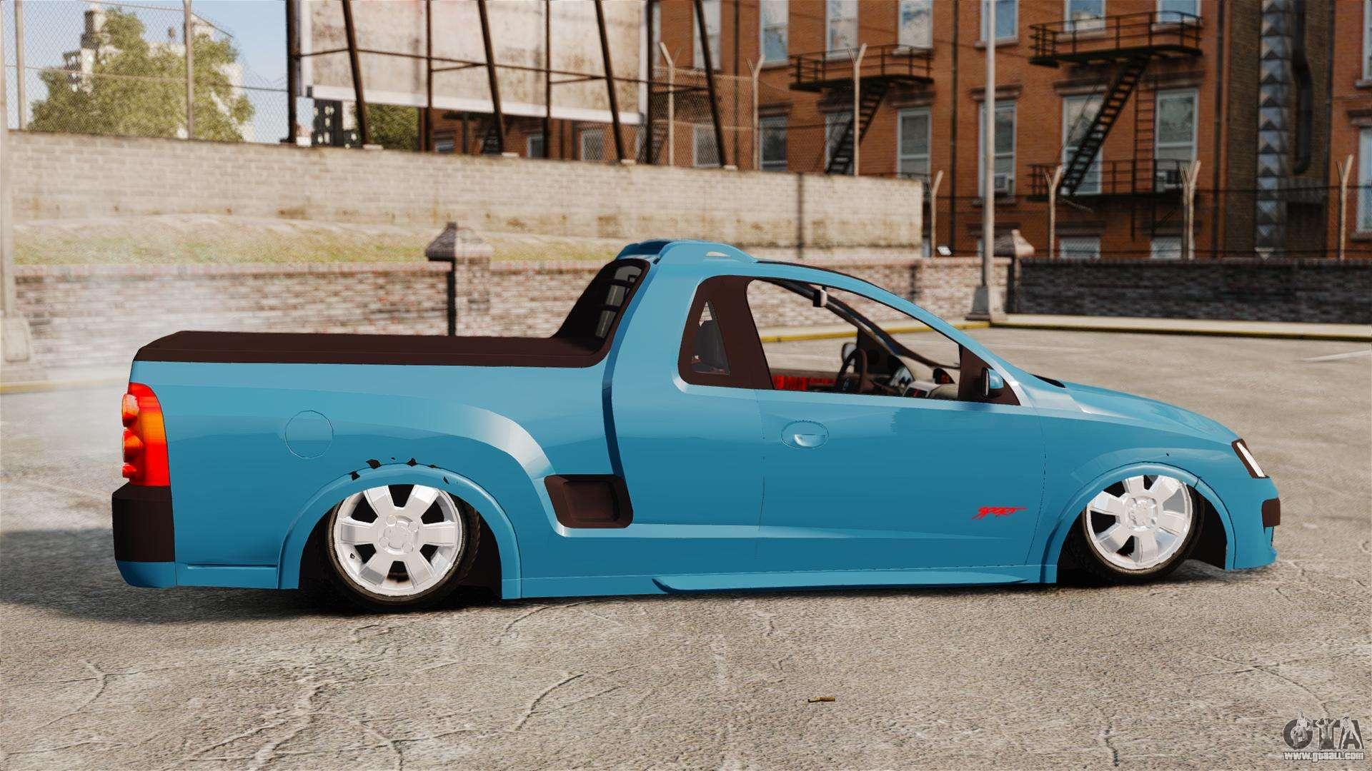 Chevrolet Montana Fixa For Gta 4
