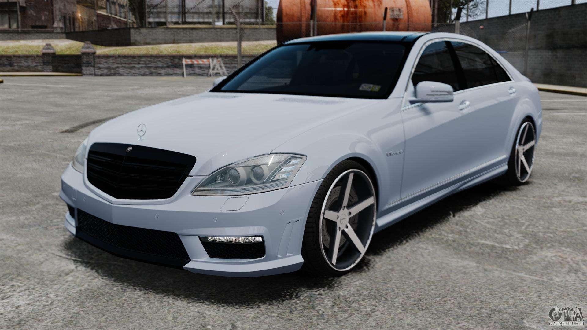 Mercedes benz s65 w221 vossen v1 2 for gta 4 for Mercedes benz amg s65