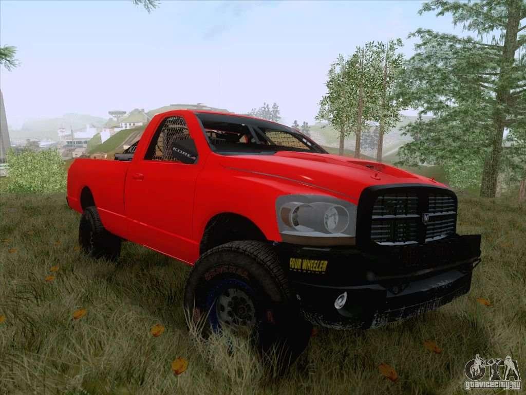 Dodge Ram Trophy Truck For Gta San Andreas
