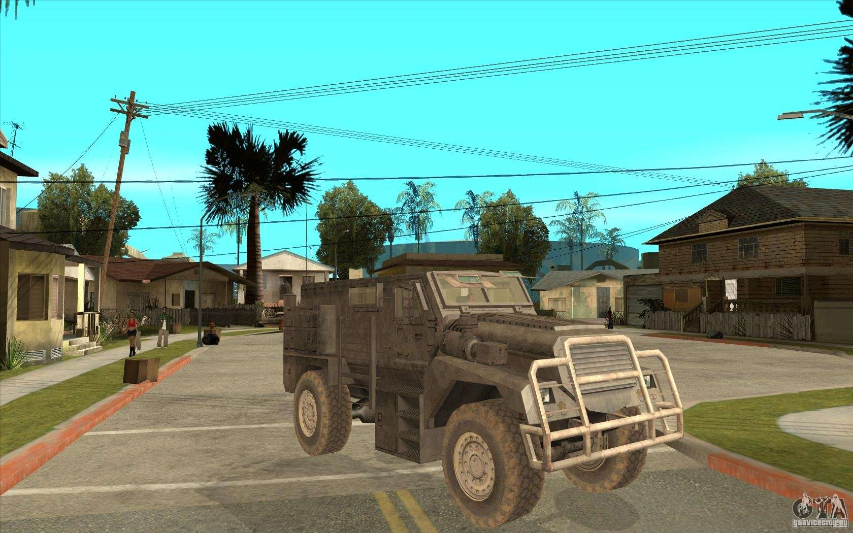 Local Motors Rally Fighter >> Military Truck for GTA San Andreas