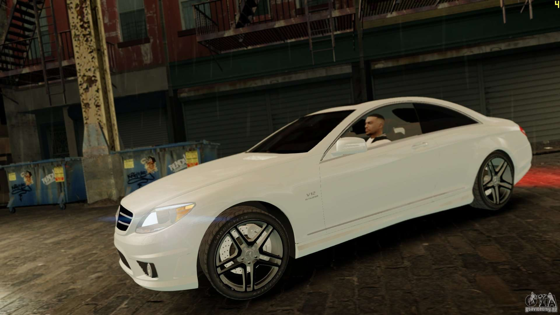 Mercedes benz cl65 amg stock for gta 4 for Mercedes benz cl65