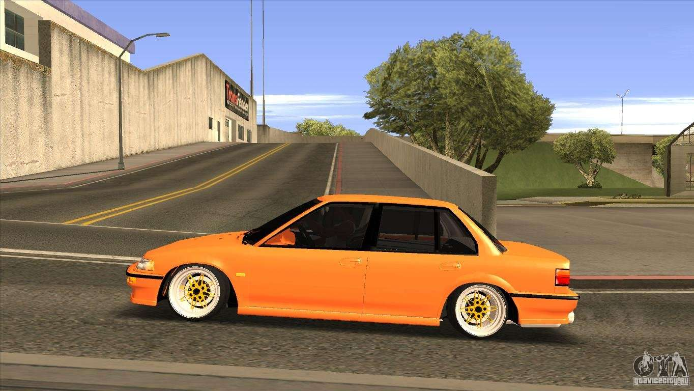 Honda Civic Ef9 Sedan For Gta San Andreas