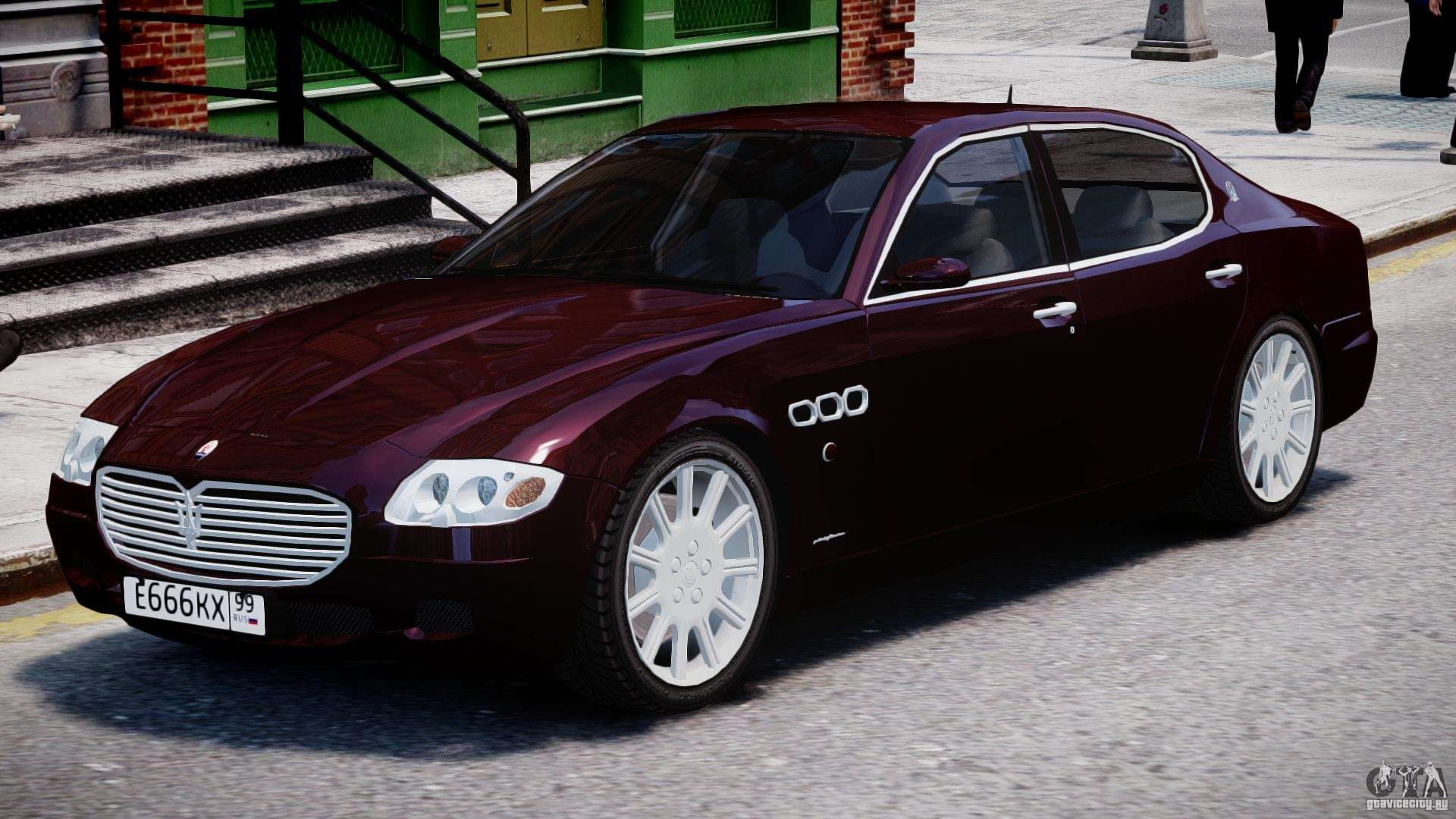 Maserati Quattroporte V for GTA 4