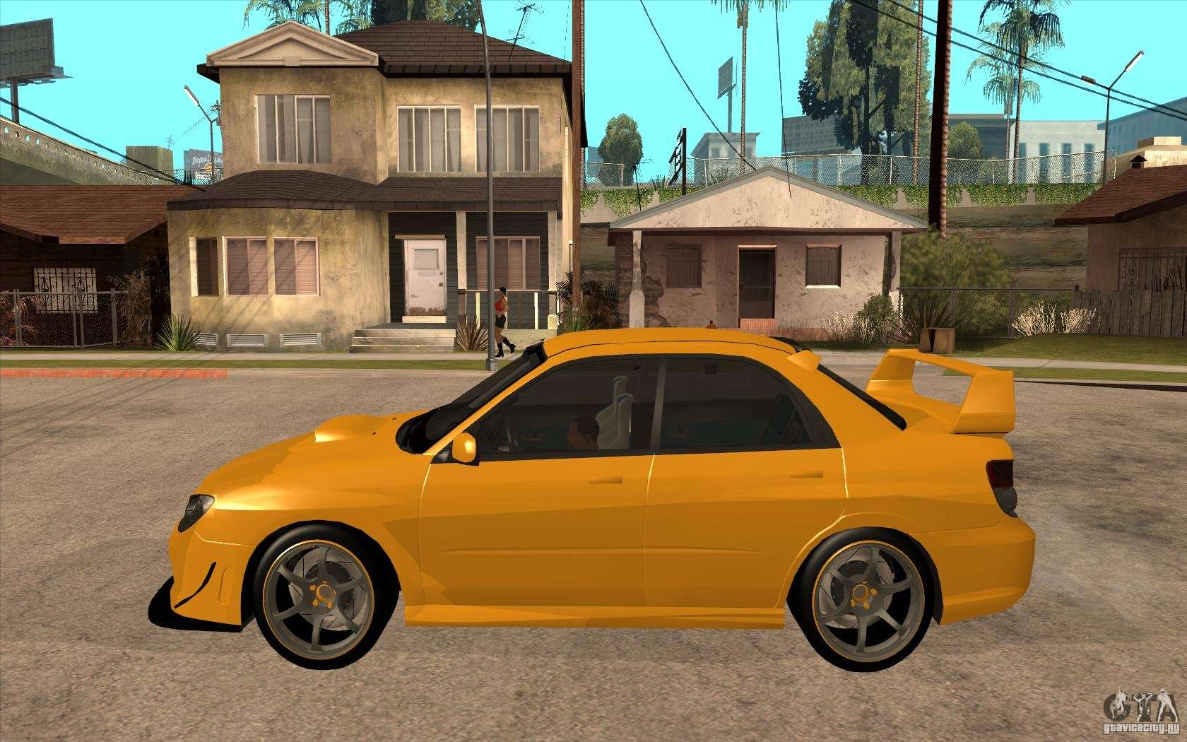 subaru impreza 2006 wrx sti for gta san andreas. Black Bedroom Furniture Sets. Home Design Ideas