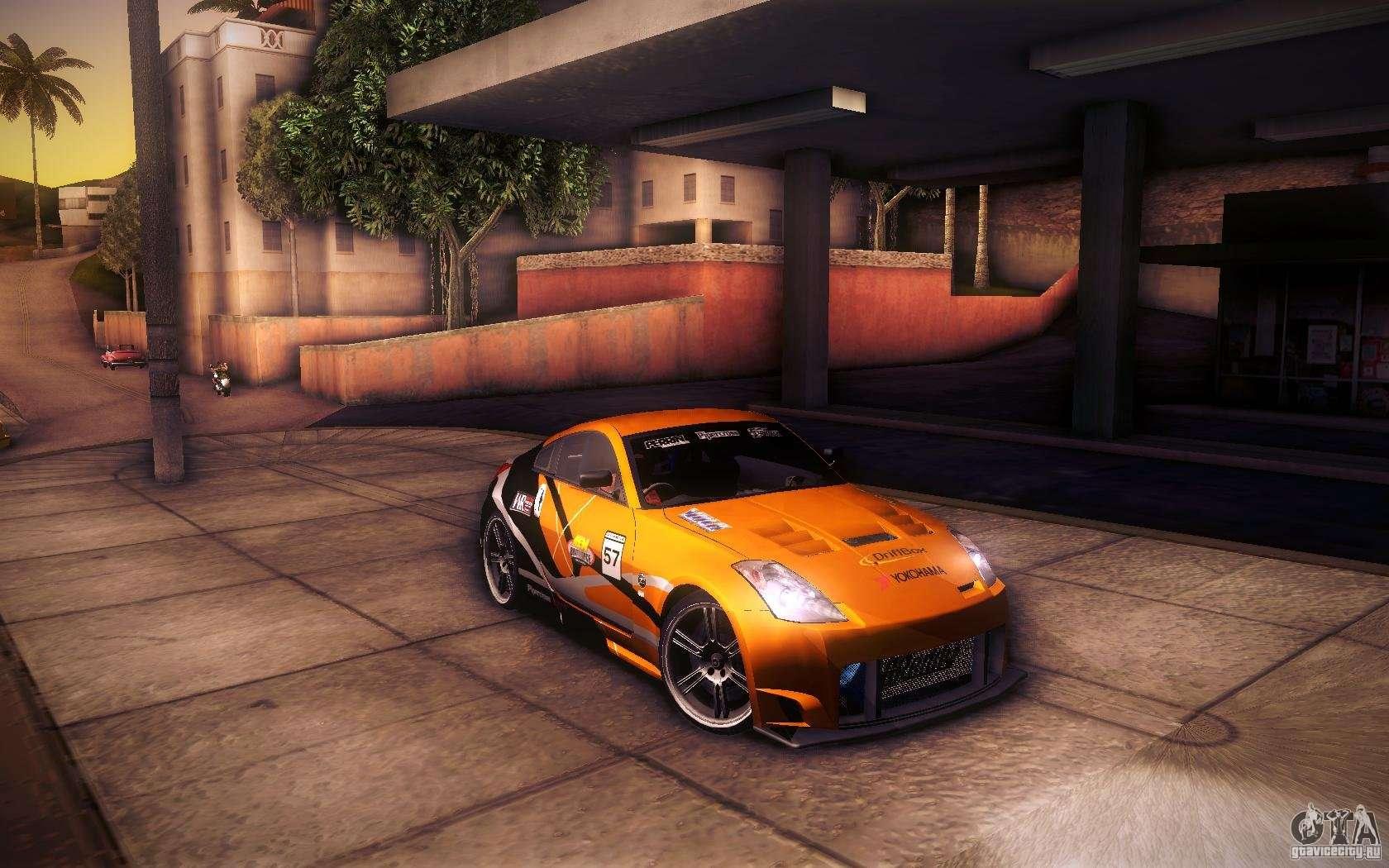 Gta 5 Nissan 350z Nissan 350z Fairlady For Gta San Andreas Engine