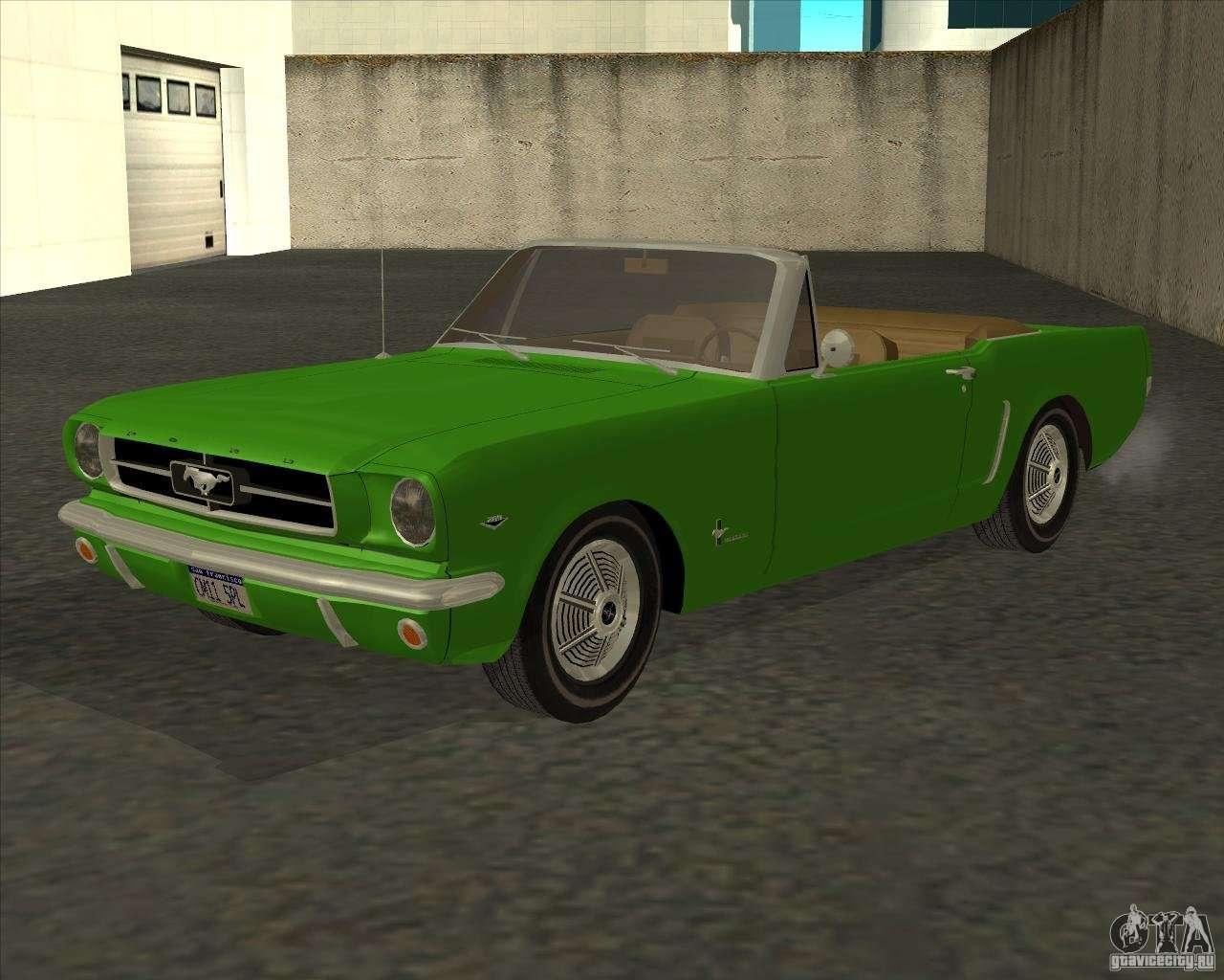 ford mustang 289 1964 for gta san andreas. Black Bedroom Furniture Sets. Home Design Ideas