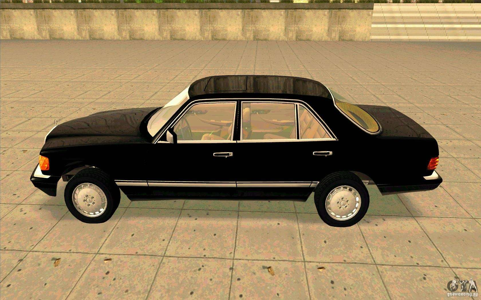 Mercedes benz 560sel w126 1990 v1 0 for gta san andreas for Mercedes benz 560sel