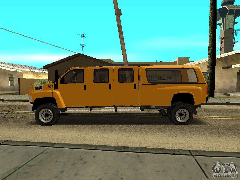 Gmc Topkick 6500 Mitula Cars For Gta San Andreas Left View