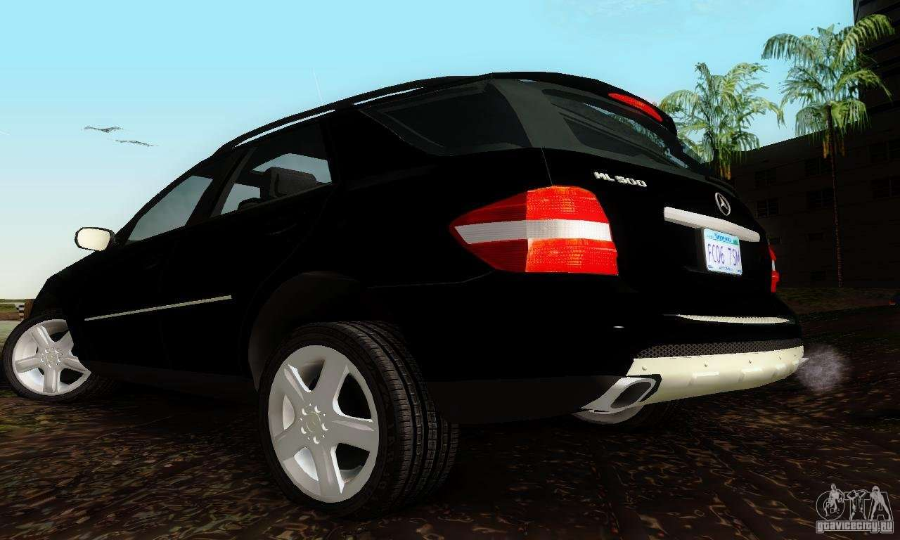 Mercedes benz ml500 for gta san andreas for Mercedes benz ml 500