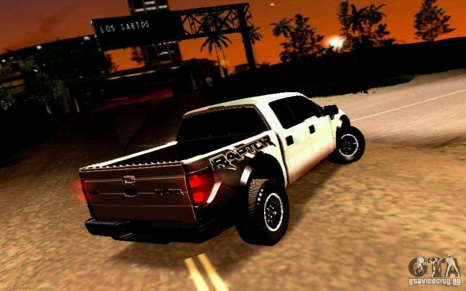 Ford Raptor Bronco >> Ford Raptor Crewcab 2012 for GTA San Andreas