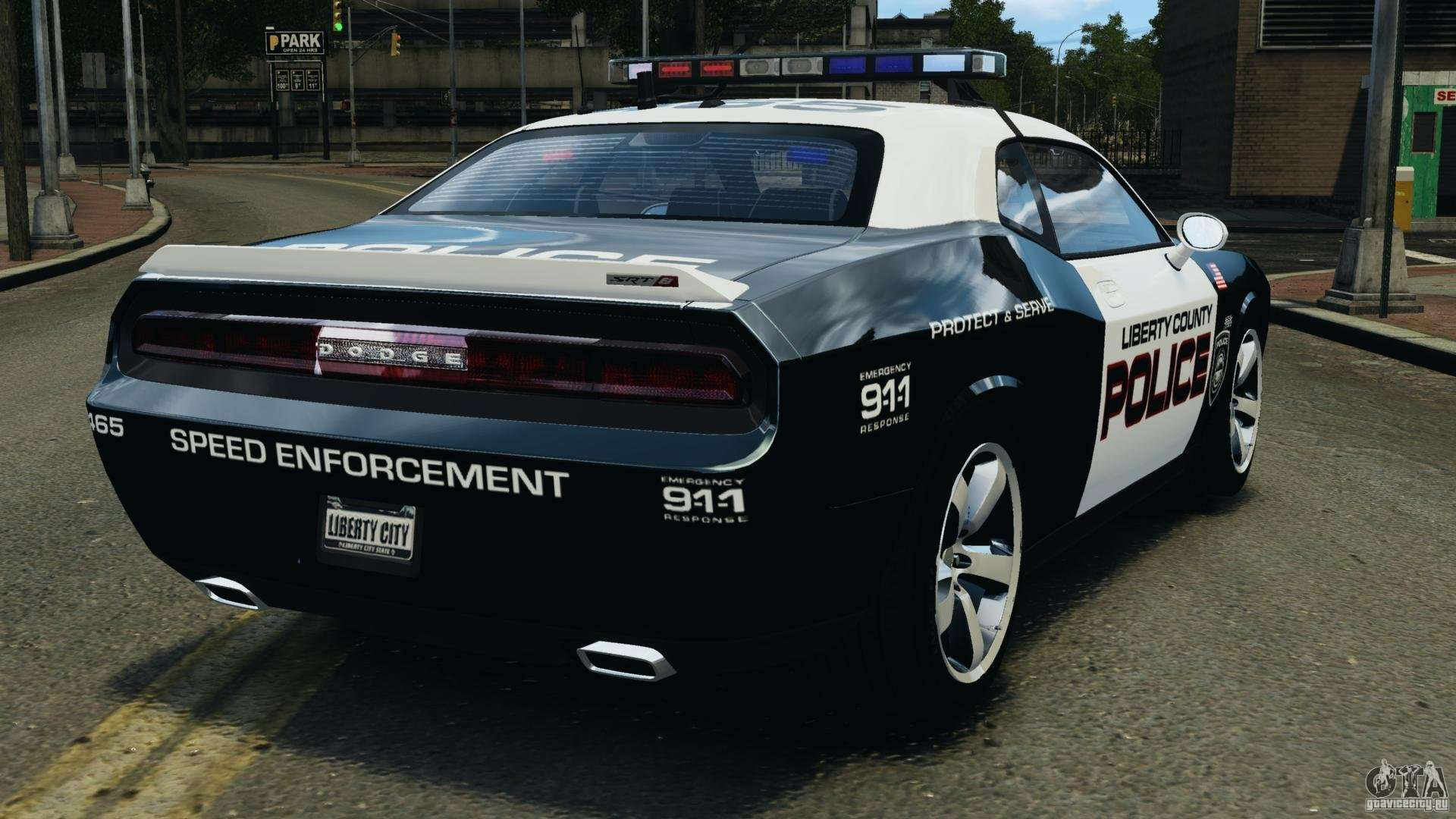 dodge challenger srt8 392 2012 police els epm for gta 4. Black Bedroom Furniture Sets. Home Design Ideas