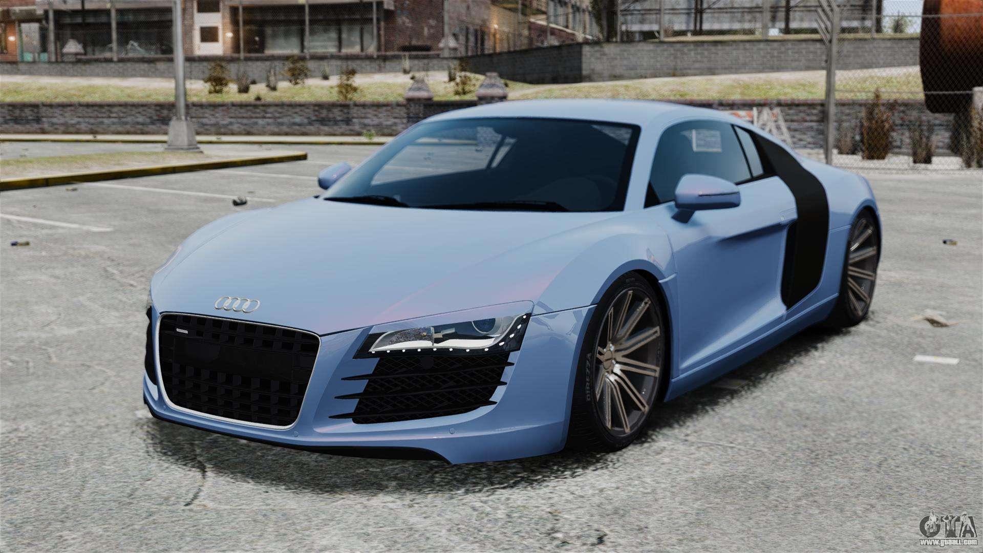 Audi R8 For Gta 4