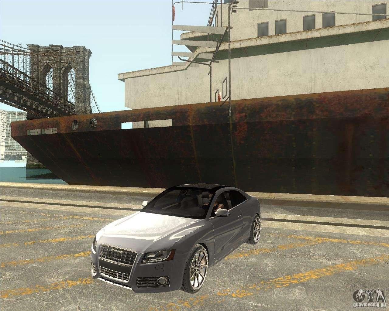 Audi S V Custom For GTA San Andreas - Audi s5 custom