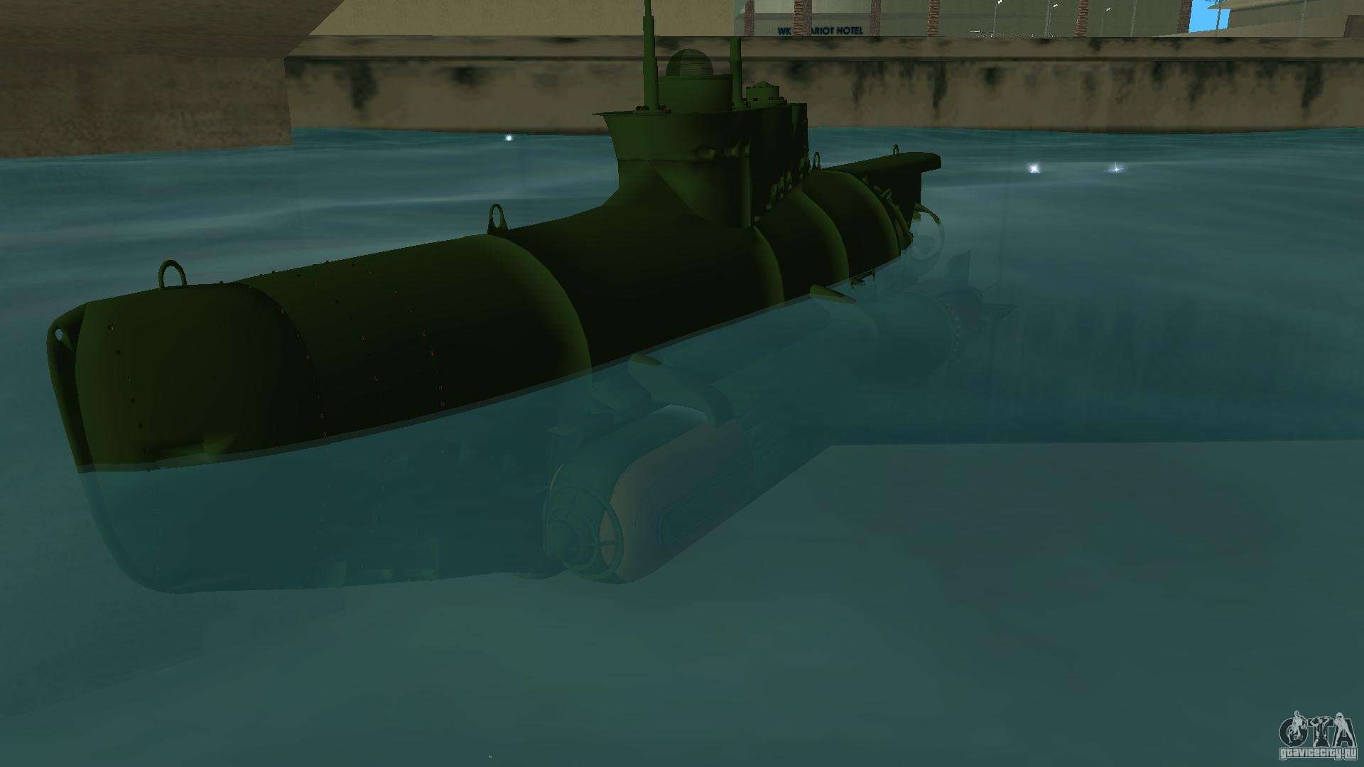 Seehund Midget Submarine skin 1 for GTA Vice City