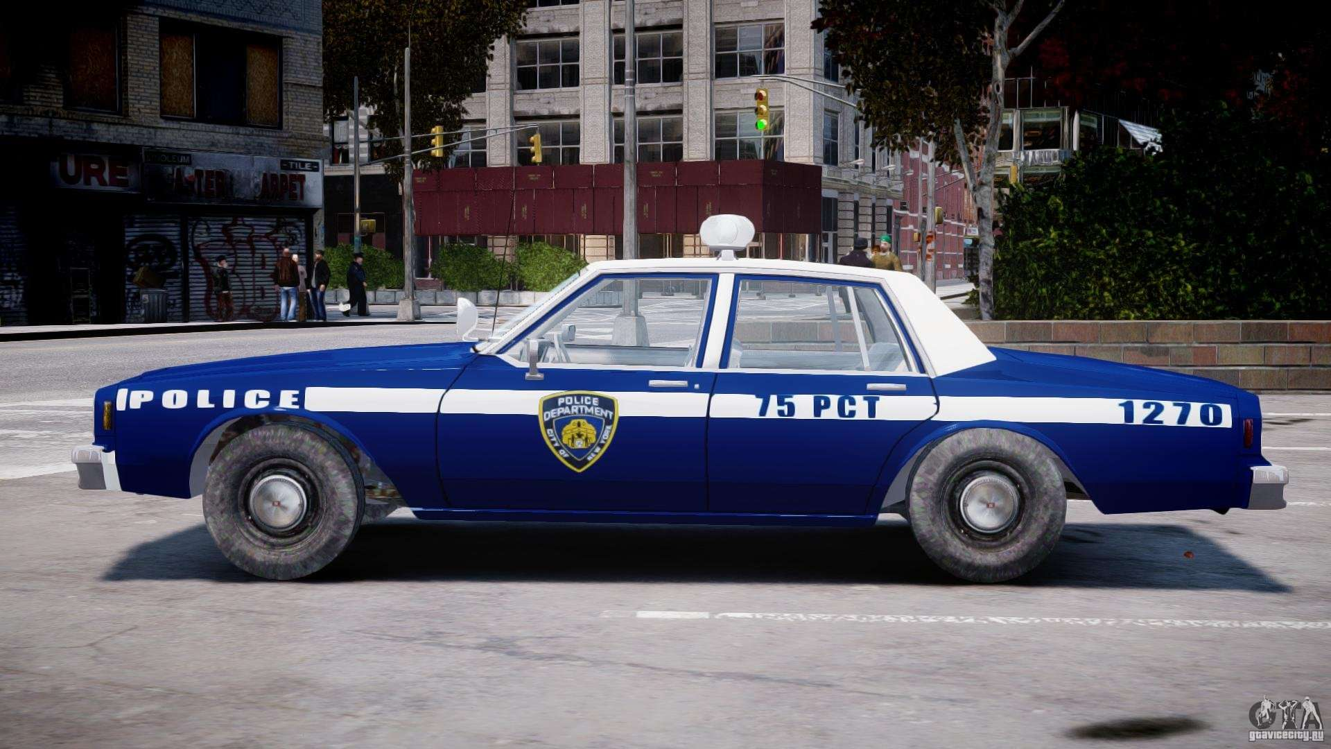 Chevrolet Impala Police 1983 Final For Gta 4