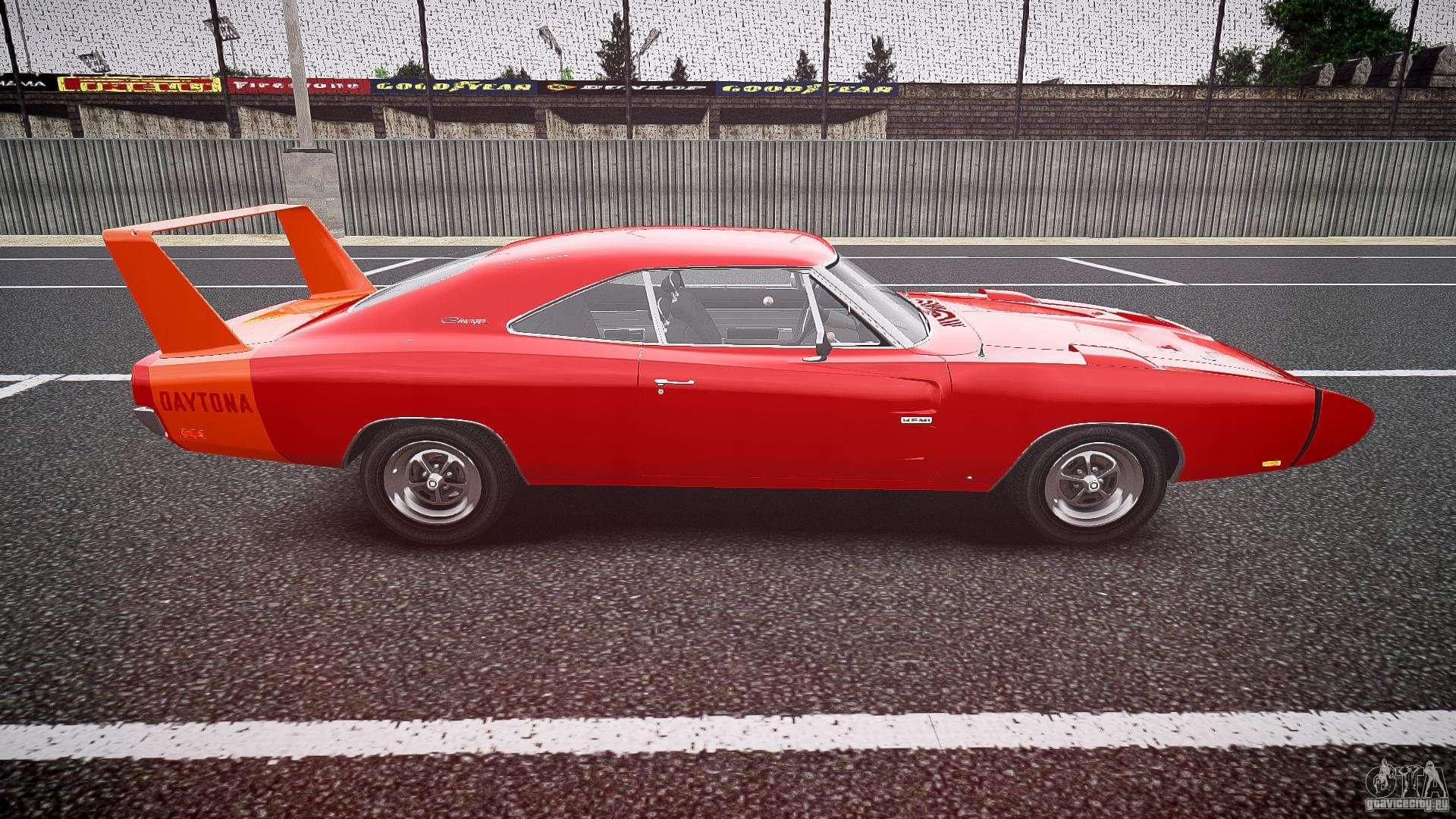 Dodge charger daytona 1969 epm for gta 4 inner view