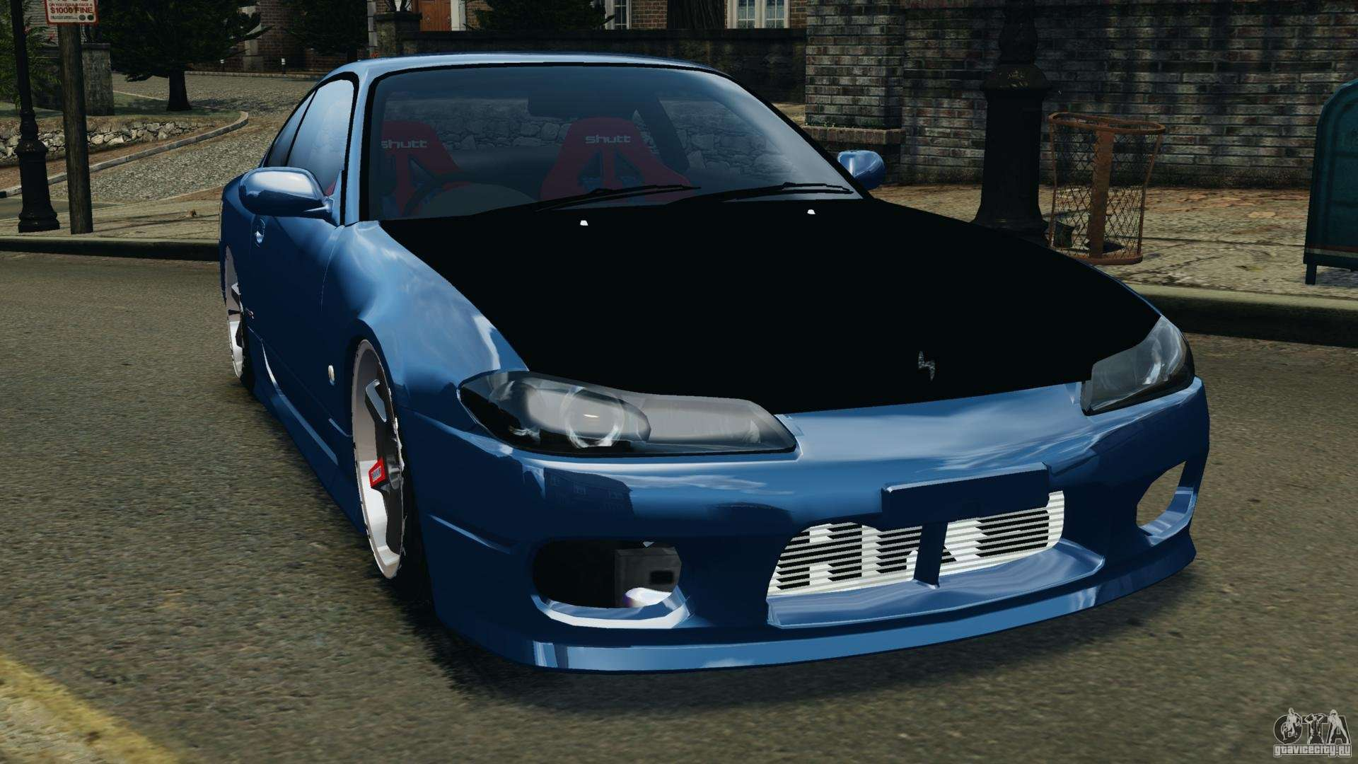 nissan silvia s15 jdm for gta 4. Black Bedroom Furniture Sets. Home Design Ideas