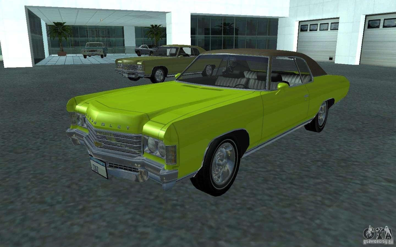 Chevrolet impala 4 door hardtop 1963 for gta san andreas - Chevrolet Impala 1971 For Gta San Andreas