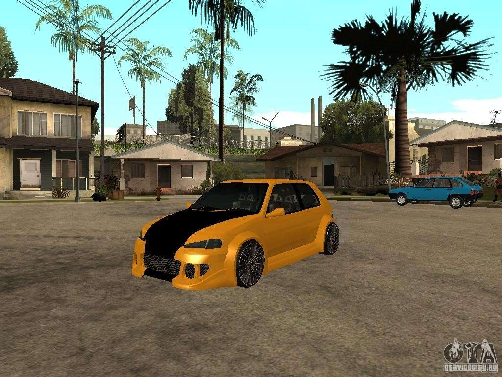 peugeot 106 tuning for gta san andreas. Black Bedroom Furniture Sets. Home Design Ideas