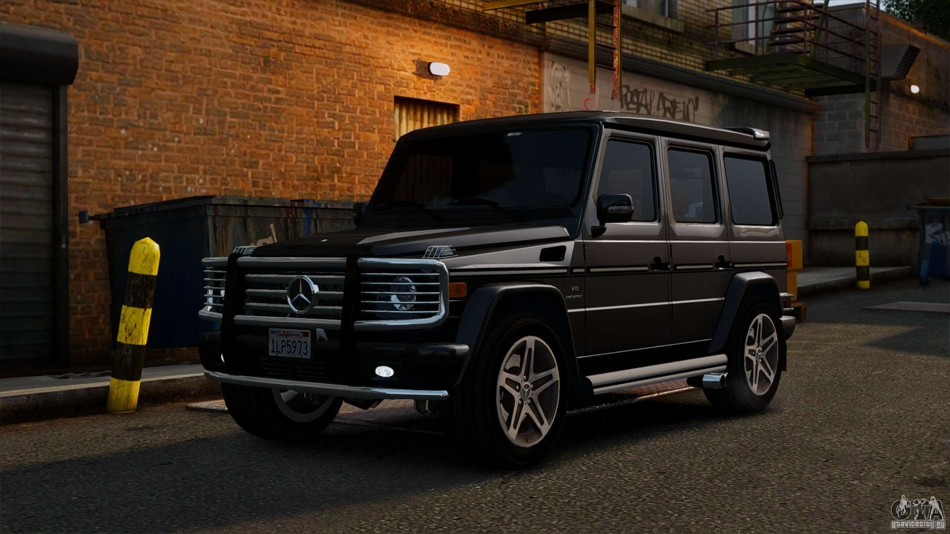 Mercedes Benz G55 Amg 2011 For Gta 4