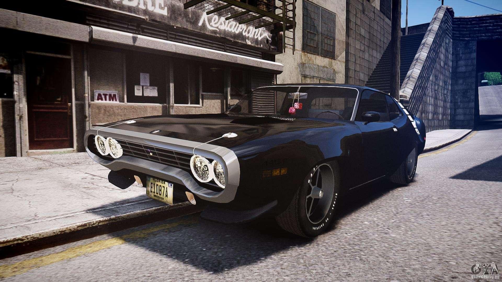 Plymouth Roadrunner 440 1971 for GTA 4