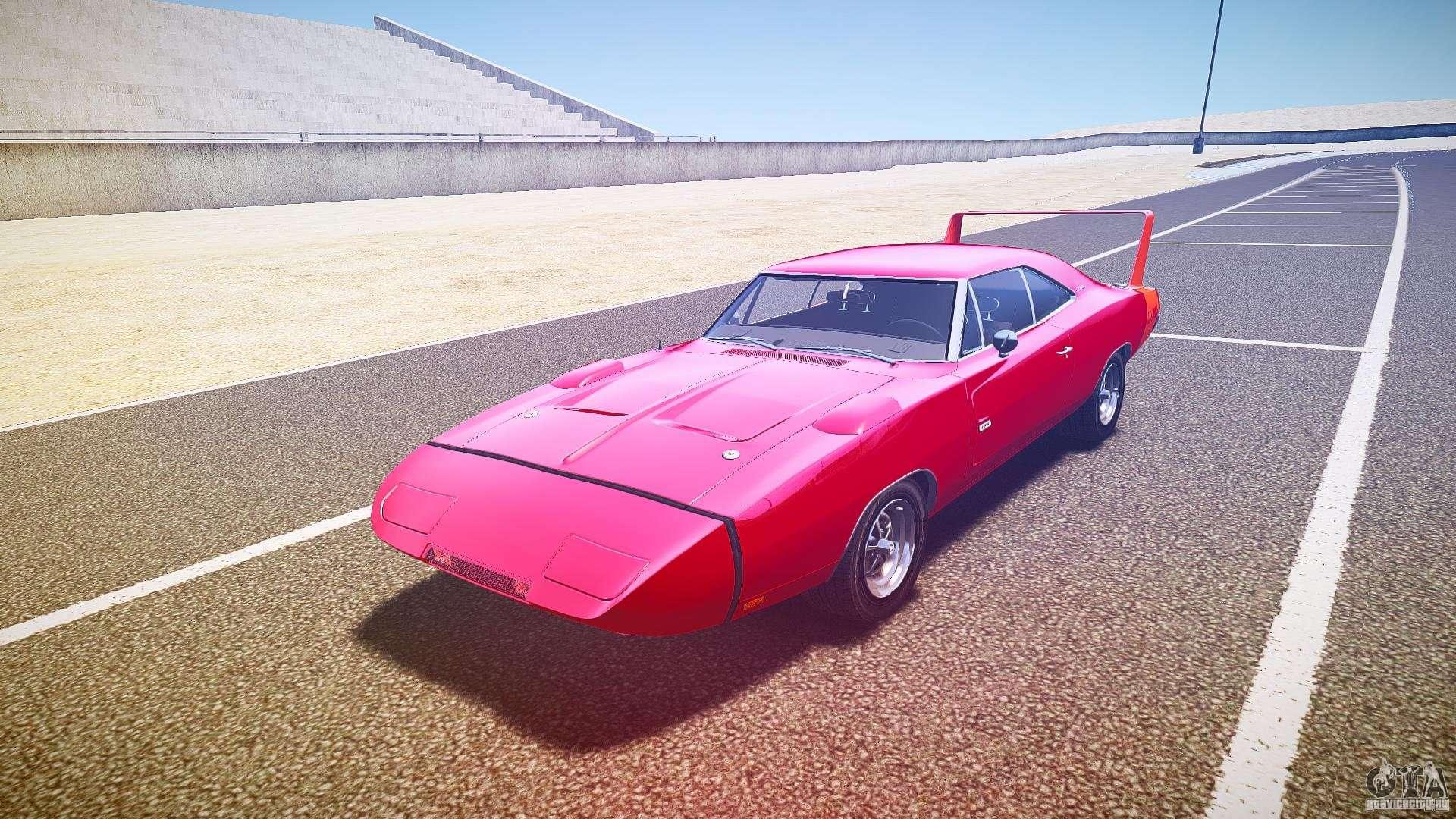 Dodge Charger Daytona 1969 [EPM] for GTA 4
