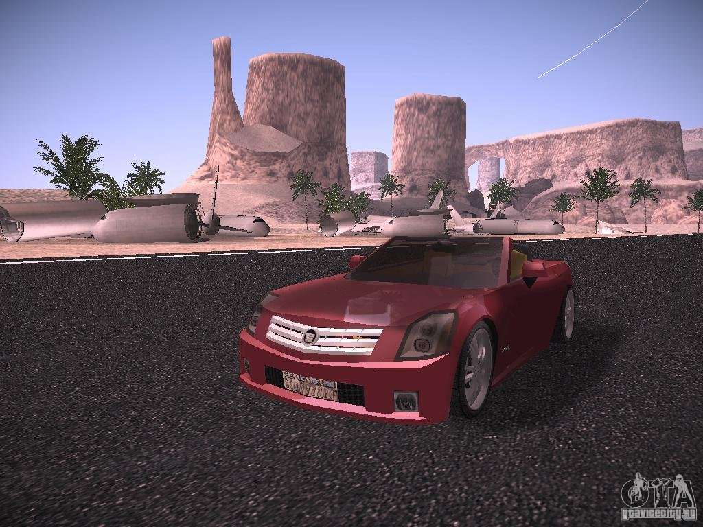 Cadillac XLR 2006 For GTA San Andreas