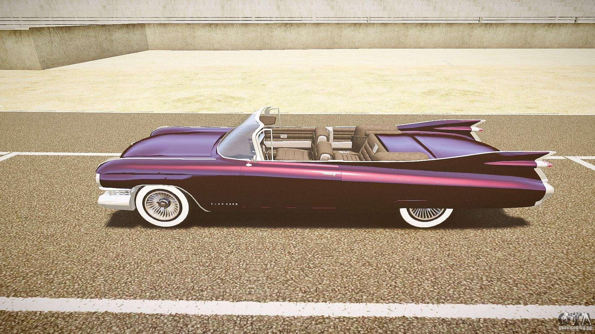 Cadillac Eldorado 1959 interior black for GTA 4