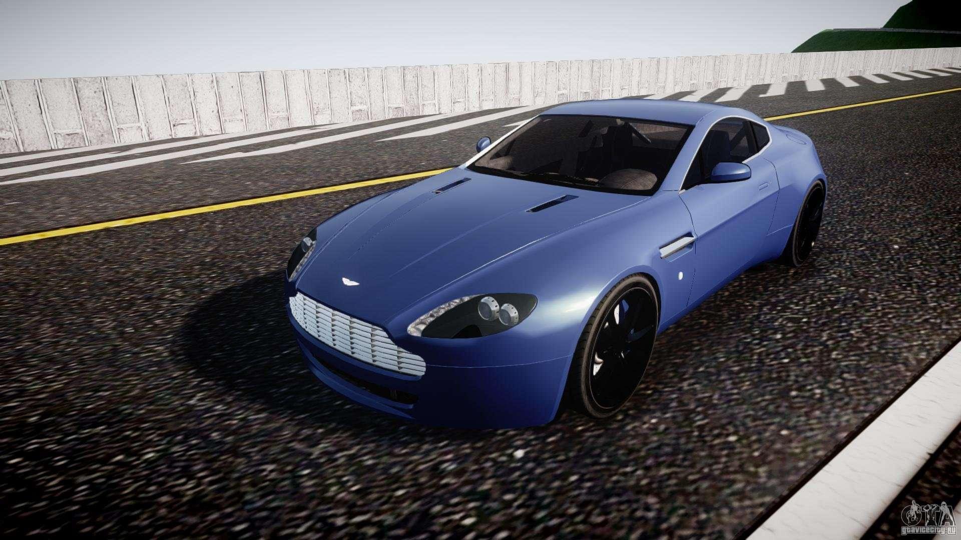 Aston Martin V8 Vantage V1 0 for GTA 4
