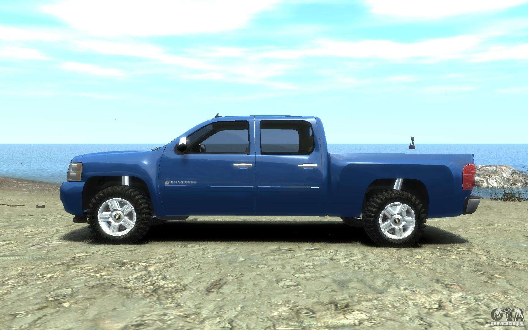 chevrolet silverado 2008 for gta 4. Black Bedroom Furniture Sets. Home Design Ideas