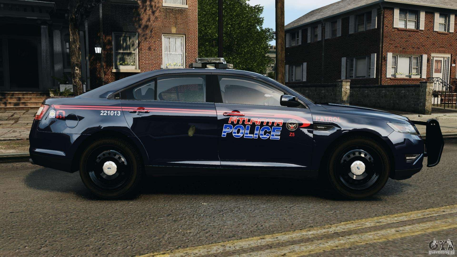 Police Car Sheriff Is Ford Gta