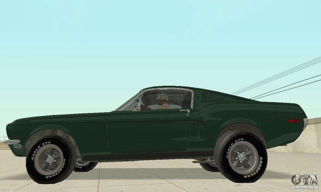 Ford Mustang Bullitt 1968 V 2 For Gta San Andreas
