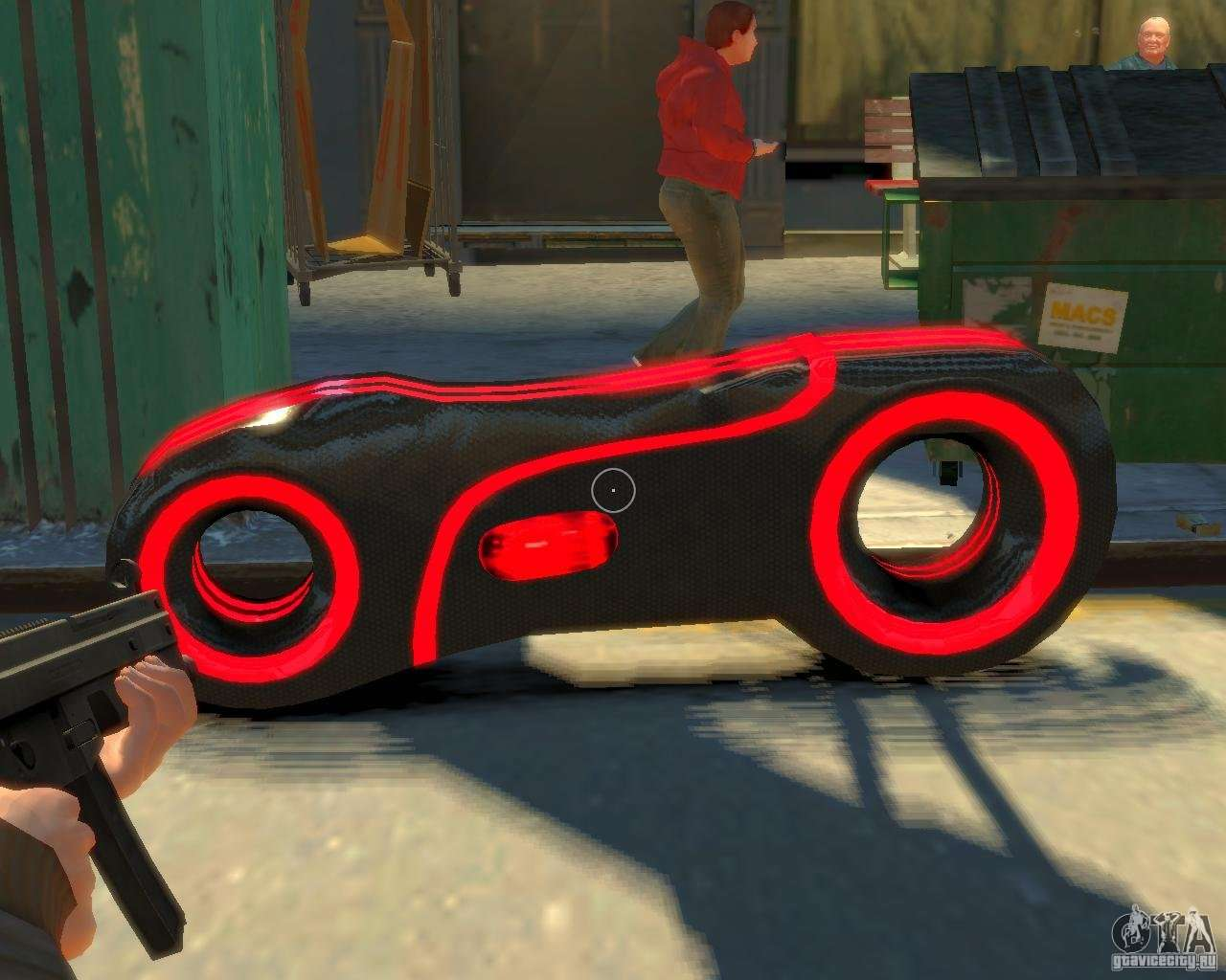 how to play tron in gta
