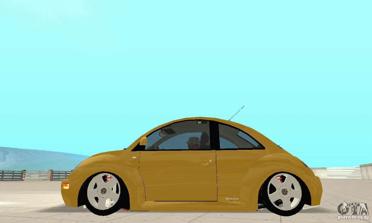 volkswagen new beetle gti 1 8 turbo for gta san andreas. Black Bedroom Furniture Sets. Home Design Ideas