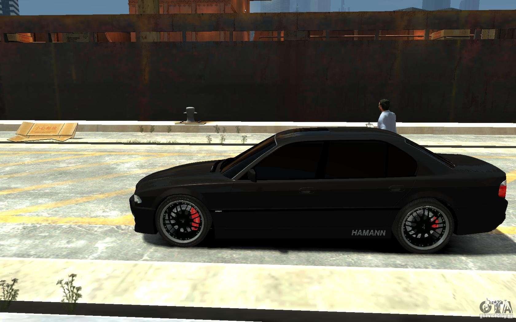 8 Passenger Minivan >> BMW 750i E38 HAMANN for GTA 4