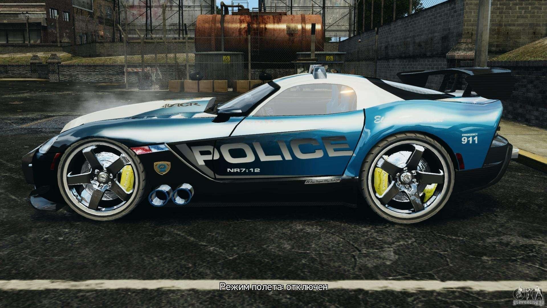dodge viper srt 10 acr elite police for gta 4. Black Bedroom Furniture Sets. Home Design Ideas